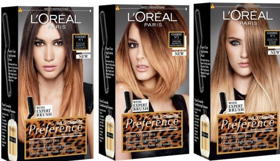 lOreal ombre kits
